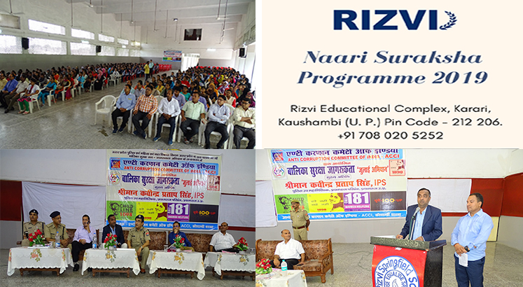 Women Safety, Rizvi College,